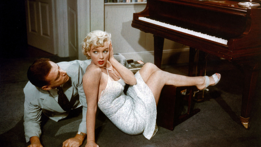 an introduction to the analysis of skirt blowing scene from the seven year itch Tom ewell talking about marilyn monroe and the 7 year itch skirt blowing up scene marilyn monroe & tom ewell - publicity stills of the seven year itch 1954 the seven year itch (3/5) movie clip - opening the champagne (1955) hd.