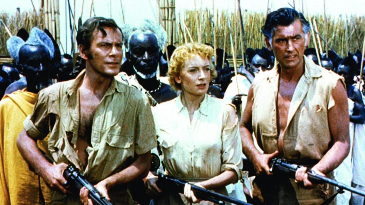 Amazoncom King Solomons Mines Patrick Swayze Alison