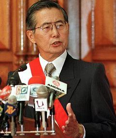 Photo of Alberto Fujimori