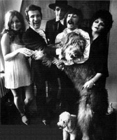 Photo of Steve Rowland and the Family Dogg