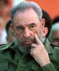Poza lui Fidel Castro
