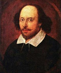 Foto van William Shakespeare