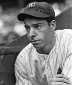 Photo of Joe DiMaggio
