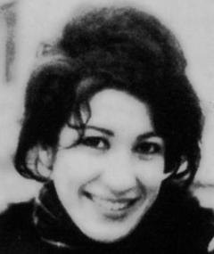 Photo of Forugh Farrokhzad