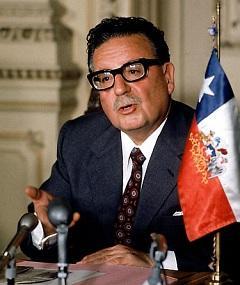 Poza lui Salvador Allende