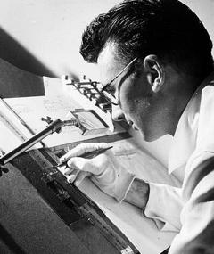 Photo of Norman McLaren