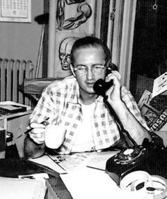 Photo of Steve Ditko