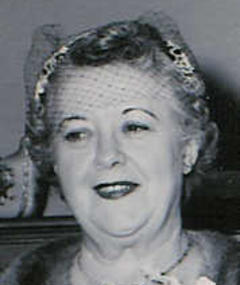 Photo of Gertrude Purcell