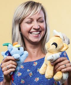 Photo of Ashleigh Ball