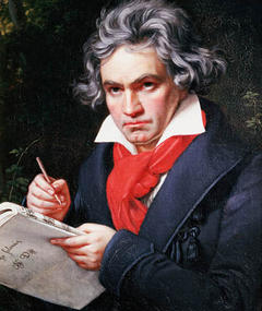 Ludwig van Beethoven का फोटो