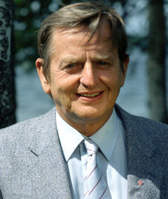 Photo of Olof Palme