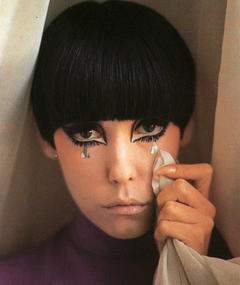 Photo of Peggy Moffitt