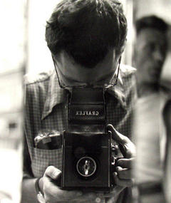 Photo of Saul Leiter