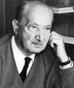 Photo of Martin Heidegger