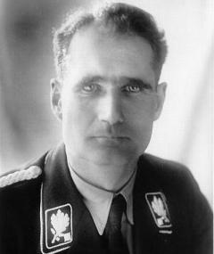 Foto van Rudolf Hess