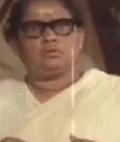 Photo of Rajam K. Nair
