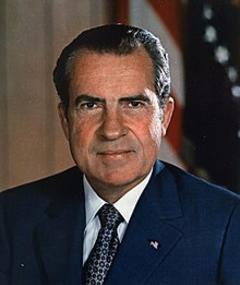 Foto van Richard Nixon