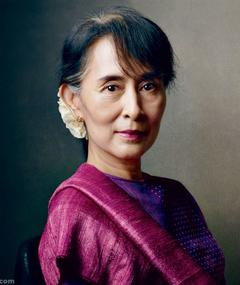 Photo of Aung San Suu Kyi