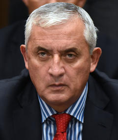 Photo of Otto Pérez Molina