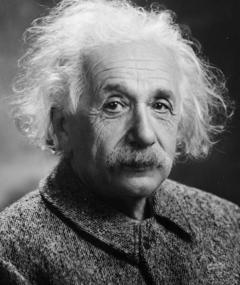 Albert Einstein का फोटो
