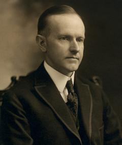 Photo of Calvin Coolidge