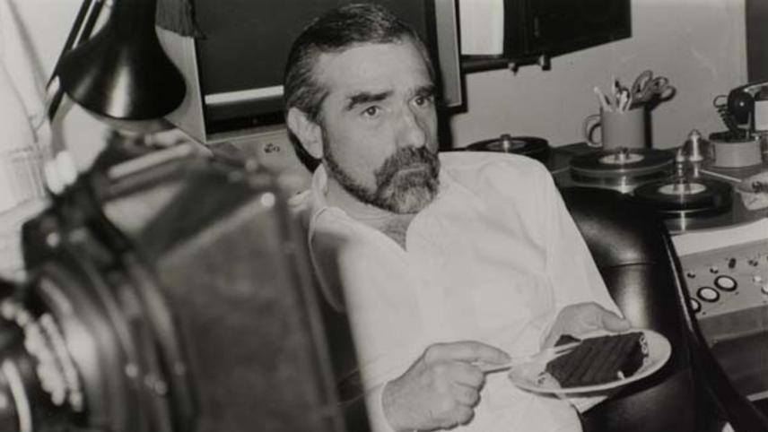 Scorsese at the Editing Table