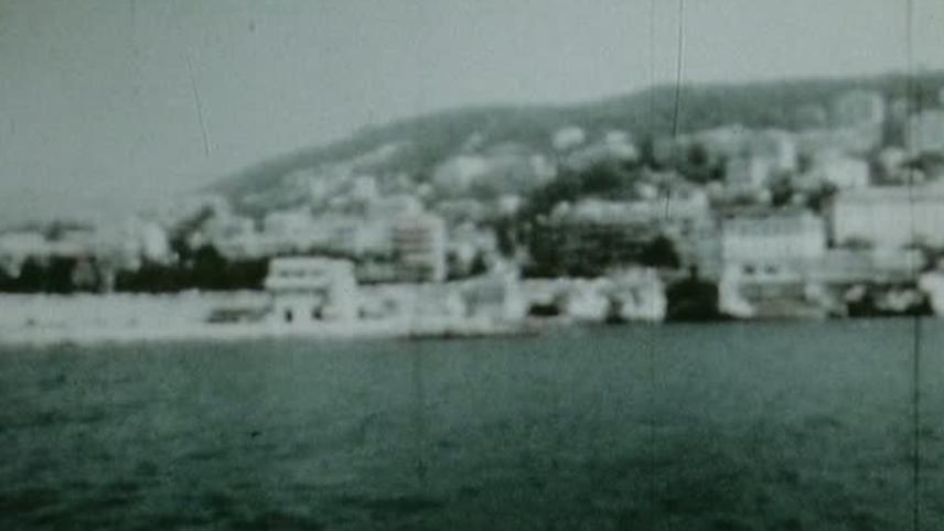 Le traversée du port de Nice à la nage