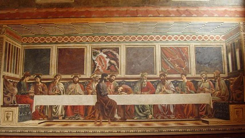 Andrea Del Castagno's Last Supper