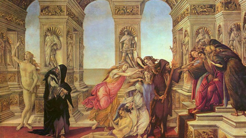 "Botticelli'S Imagination: ""The Calumny Of Apelles"""