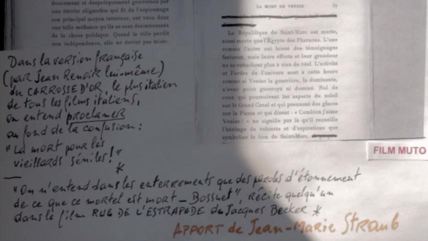 Venice 70 – Future Reloaded: Jean-Marie Straub