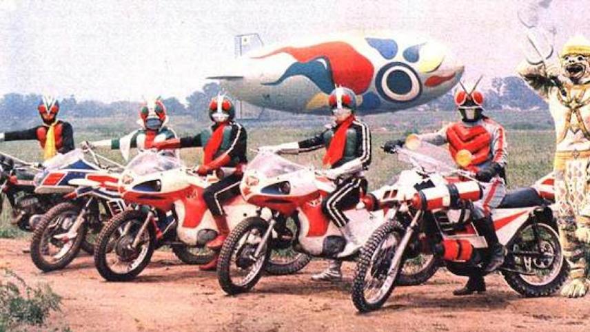 Hanuman and the 5 Riders