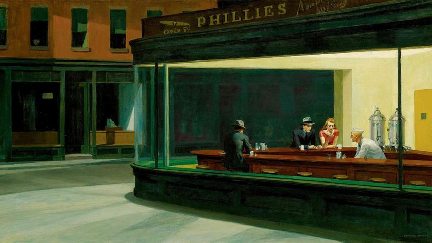 Edward Hopper and the Blank Canvas