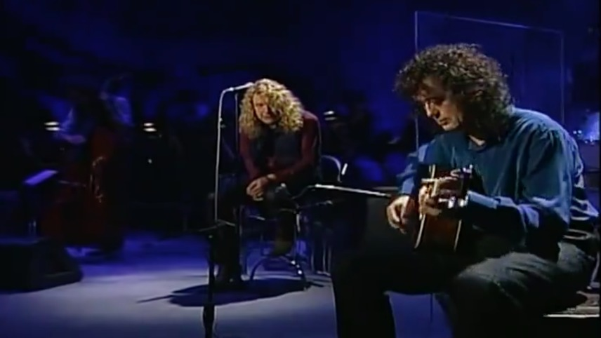 Jimmy Page & Robert Plant: Un-Led-ed