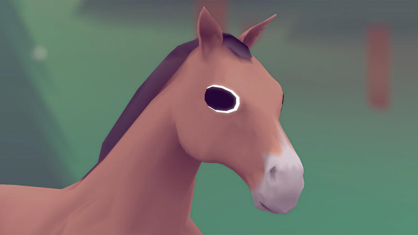 The Horse Raised by Spheres