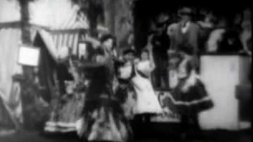 Spanish Dancers at the Pan-American Exposition