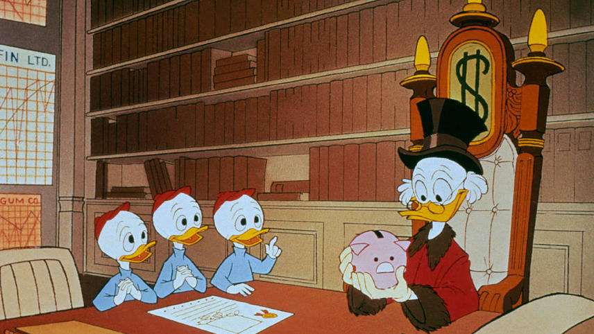 Scrooge McDuck and Money