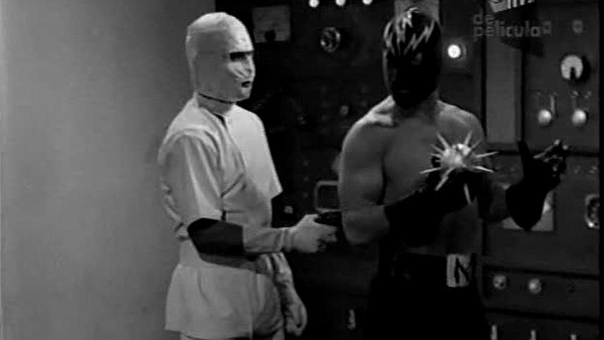 Neutron the Atomic Superman vs. the Death Robots