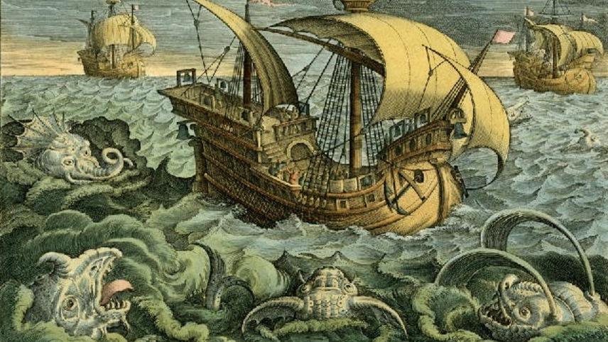 A Lenda do Mar Tenebroso