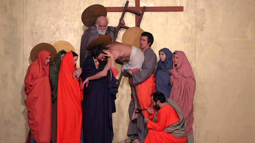 Maestà, the Passion of the Christ
