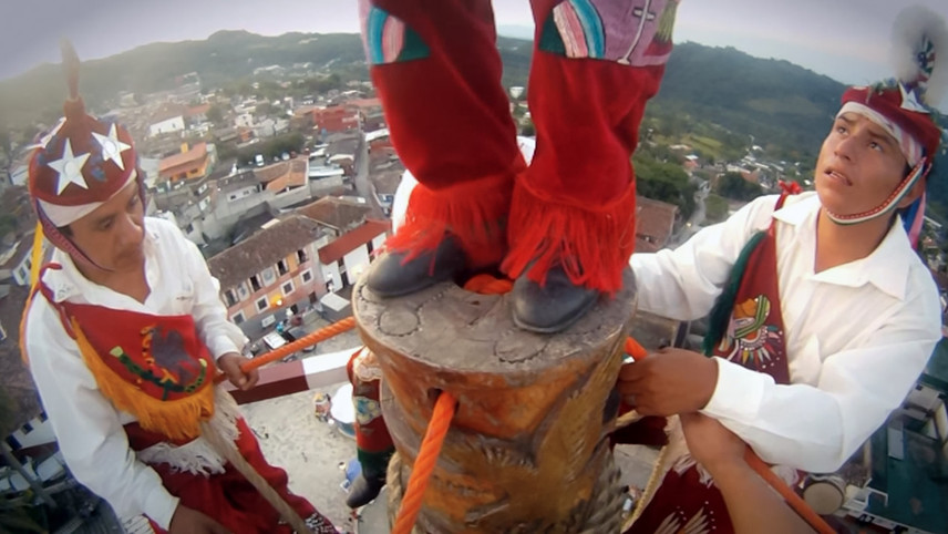 Dancing with Voladores