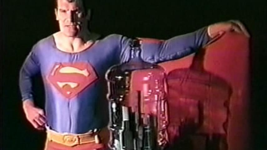 Superman Recites Selections from 'The Bell Jar' and Other Works by Sylvia Plath