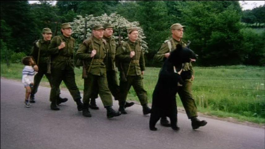 Soldaterkammerater på bjørnetjeneste