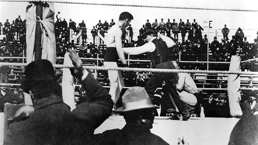 The Corbett-Fitzsimmons Fight