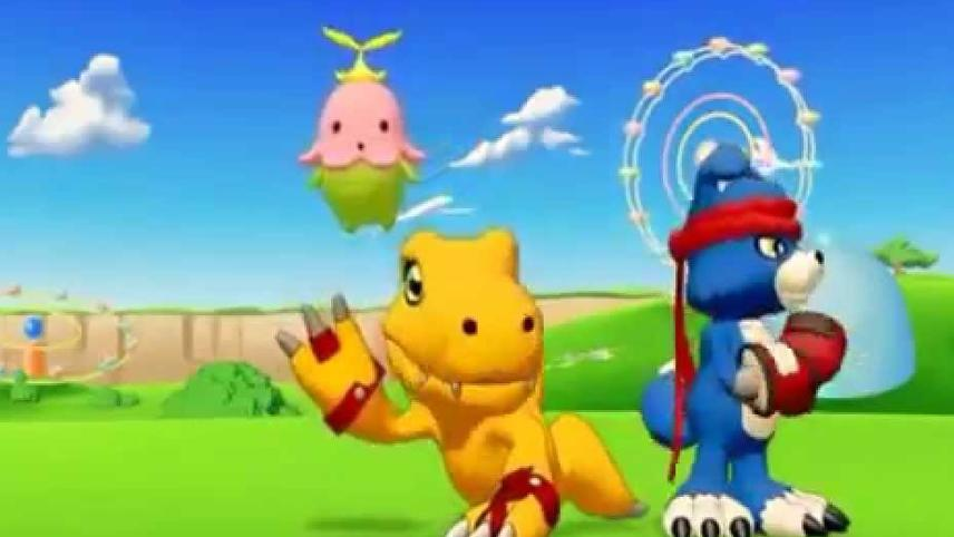 Digimon Savers 3D: The Digital World in Imminent Danger!