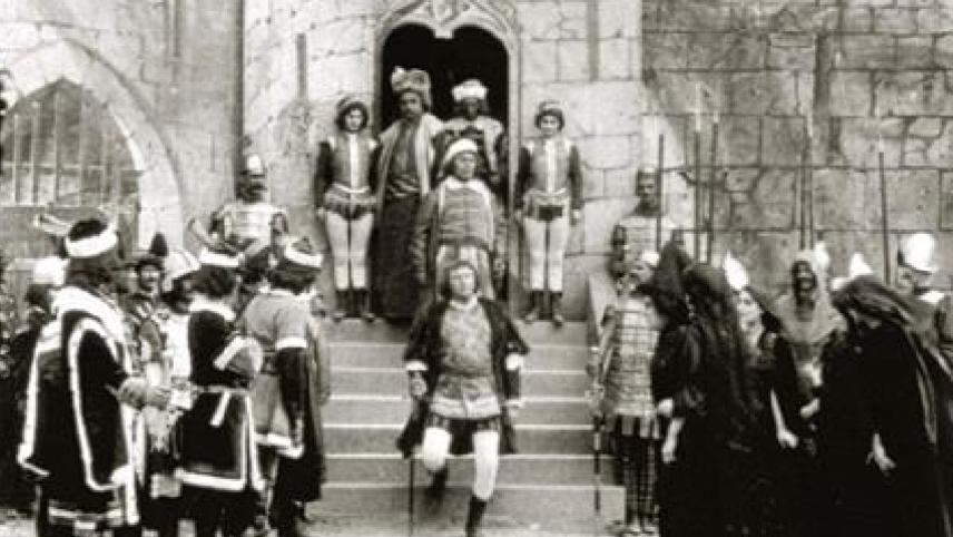 Count Ulrich II of Celje and Ladislaus Hunyadi