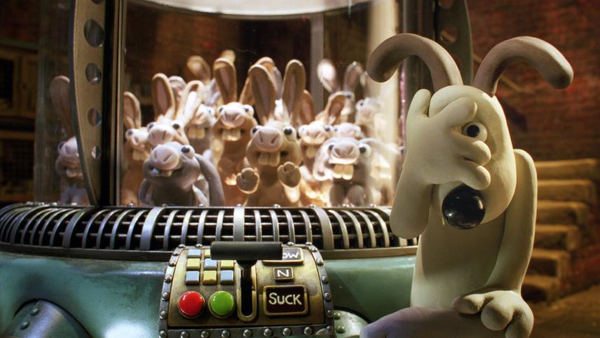 Wallace & Gromit in The Curse of the Were-Rabbit