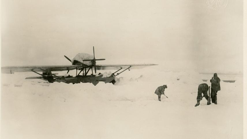 Roald Amundsen: Lincoln Ellsworth's Polar Flight 1925