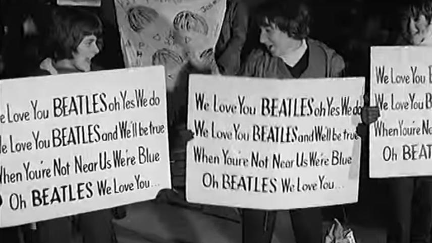 Beatles Welcome Home