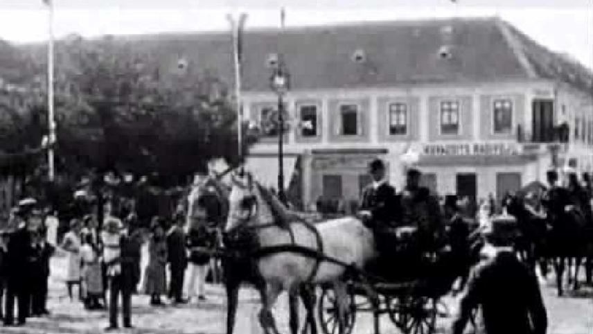 The Unveiling of the Monument to Ferenz Rakoczy
