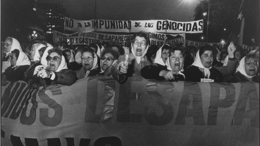 Las madres de la Plaza de Mayo
